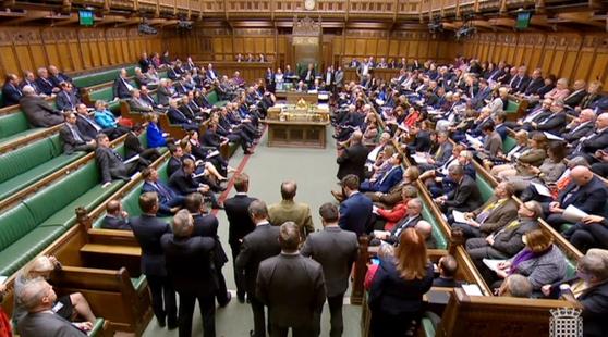 영국 하원은 두번째 대안 찾기 투표에서도 네 개 안을 모두 부결시켰다. [EPA=연합뉴스]