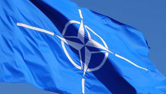 올해 4월 4일로 창립 70주년을 맞은 나토의 깃발. [나토 홈페이지]