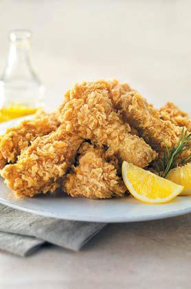 BBQ의 치킨은 올리브 오일을 튀김유로 사용한다. [사진 BBQ]
