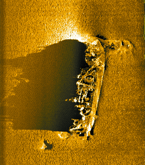 17명 탄 채 39년 전 침몰, 해경 경비정 추정 선체 발견