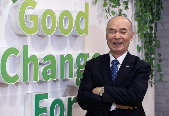 한국 NGO의 선구자 이일하 회장. [최승식 기자]