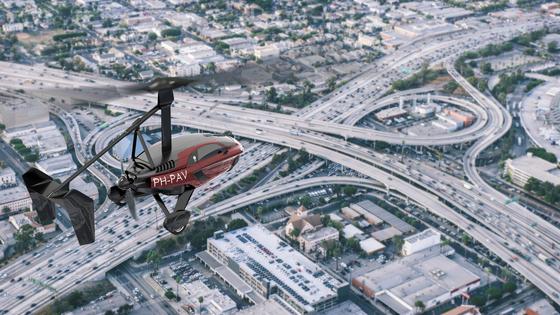 PAL-V는 비행모드로 최대 500km 거리를 날아갈 수 있는 자동차다. [사진 PAL-V]