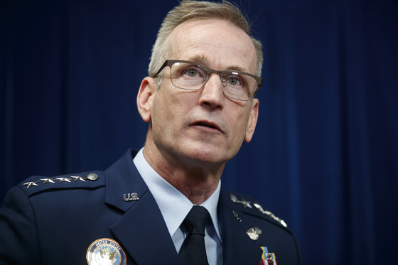 테런스 오쇼너시 북부 사령관 겸 북미항공우주방위사령관(공군 대장) [EPA=연합]