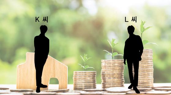 K 씨와 L 씨는 퇴직연금 가입자다. K 씨는 투자상품의 위험을 감수하기 싫어 퇴직연금을 원리금 보장상품에 운용했다. 문제는 L 씨에게서 발생했다. [사진 pixabay]
