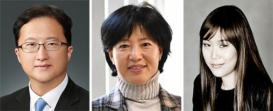 최장욱, 박은정, 손열음(왼쪽부터)