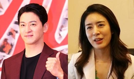 배우 주진모(왼쪽)와 10살 연하 의사 민혜연씨가 오는 6월 결혼한다. [사진 일간스포츠·SBS 방송 캡처]