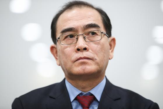 태영호 전 영국 주재 북한 공사. [연합뉴스]