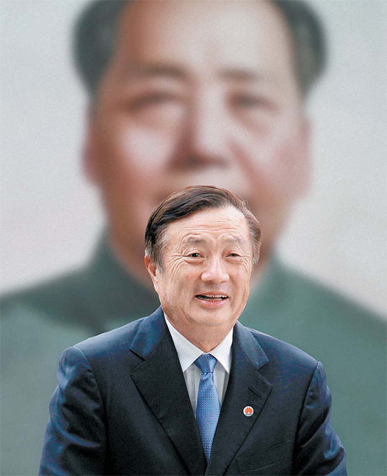 미국의 집중 견제와 압박을 받고 있는 중국 IT 그룹 화웨이는 마오쩌둥의 혁명 전략ㆍ전술을 기업 경영에 접목해 왔다. 중국 인민해방군 출신으로 화웨이를 창업한 런정페이 회장은 충실한 마오 이념의 신봉자다. [그래픽=최종윤 기자]
