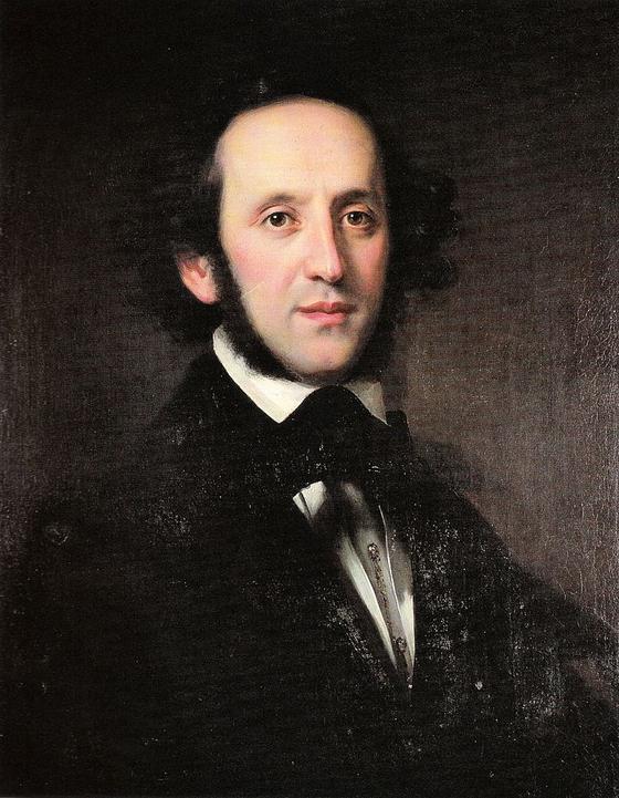 펠릭스 멘델스존. 에두아르트 마그너스(Eduard Magnus) 그림(1833). Berlin State Library 소장. [사진 Wikimedia Commons (Public Domain)]