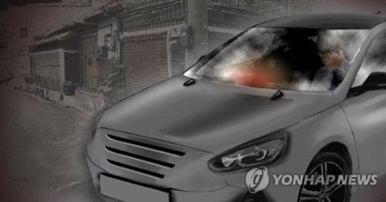 제천 청풍호 근처 주차된 차량에서 남녀 3명이 숨진 채 발견됐다. [연합뉴스]