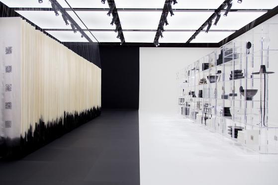 밀라노 디자인 위크에서 열린 '2019 법고창신' 전시 공간
