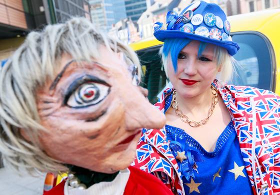 EU가 브렉시트를 할로윈데이인 10월 31일까지 연장하기로 했다. 그때까지 브렉시트를 할 것인지는 여전히 불투명하다. [EPA=연합뉴스]
