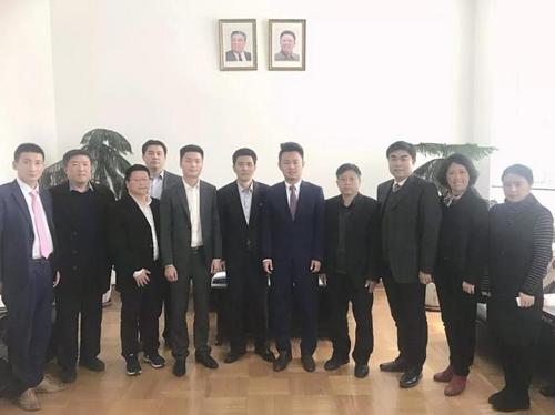 중국의 건축 자재 관련 기업이 최근 북한 대사관을 방문해 광산 자원과 수산물 관련 사업 협의 등 대북투자 문제를 협의했다고 회사측이 밝혔다. [연합=상팡구이짜오니 홈페이지 캡처]
