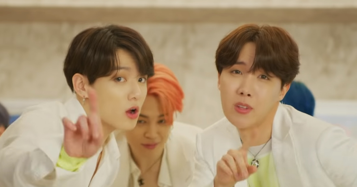 Photo from Boy With Luv M/V Screenshot