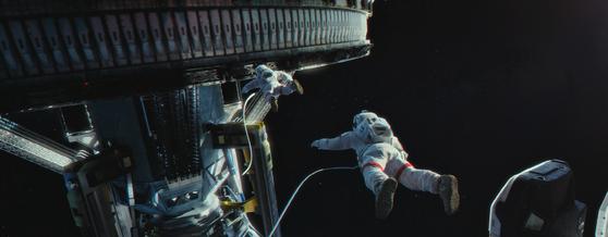 영화 '유랑지구'. 영화에 등장하는 우주정거장의 외관은 디테일의 정교함이 두드러진다. 사진=씨네그루(주)키다리이엔티