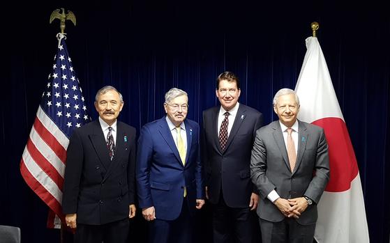 """[단독] 도쿄 모인 미국 대사 4인 """"한·일 관계 빨리 회복해야"""""""