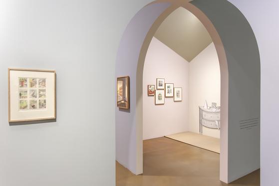 10대 때 『뉴요커 The New Yorker』 표지를 장식한 일러스트레이터 피에르 르탕의 'Mysterious Window'.