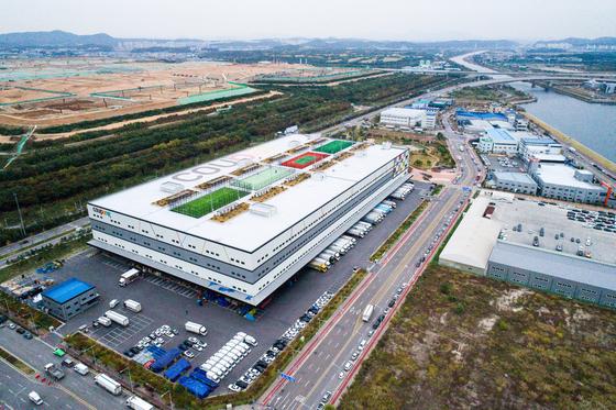 쿠팡 인천 메가물류센터. [사진 쿠팡]