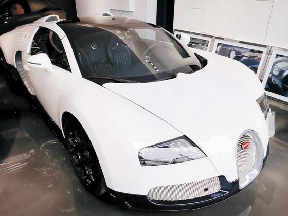 부가티 베이론 그랜드 스포츠 차량. [중앙포토]