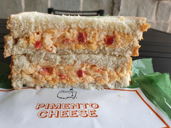 피멘토 치즈 샌드위치