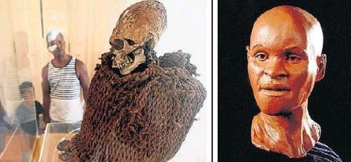 아메리카 대륙에서 가장 오래된 두개골을 복원한 '루지아' [브라질 일간지 에스타두 지 상파울루]