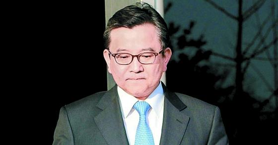 김학의 전 법무부 차관의 모습. [중앙포토]