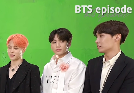 Photo from BigHit Youtube