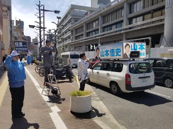 4일 치러진 가가와현 현의회 선거에서 13개 지역구 가운데 9곳에서 무투표 당선이 발생했다. 윤설영 특파원.