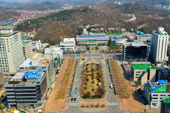 경기도 안산시 전경 [사진 안산시]