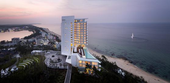 2018년 한국인이 가장 비싼 숙박비를 내고 묵은 도시는 강원도 강릉이었다. [사진 씨마크 호텔]