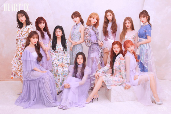 Photo from IZ*ONE official twitter