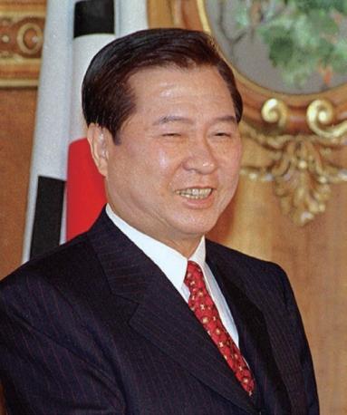 김대중 전 대통령.