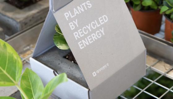 네이버 데이터센터 '각'에서는 서버룸에서 나온 폐열로 온실에서 식물을 키운다. [사진 네이버]