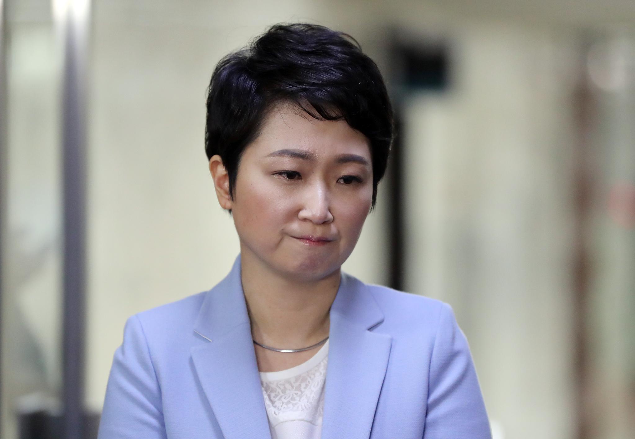 이언주 바른미래당 의원. 김경록 기자