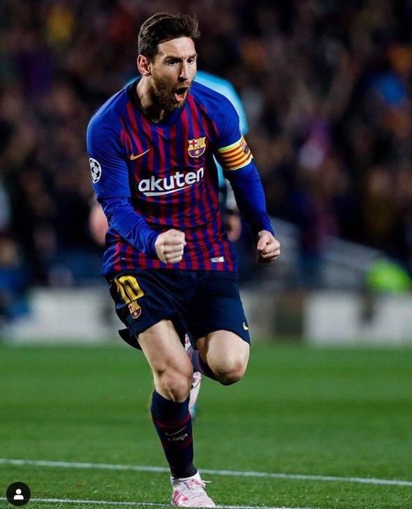 축구의 신이라 불리는 바르셀로나 메시.[바르셀로나 인스타그램]