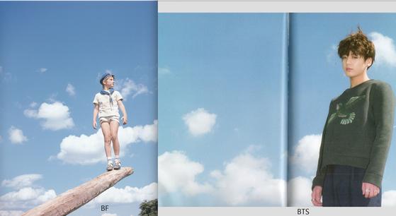 왼쪽 사진이 베르나르 포콩의 작품. [사진 베르나르 포콩]