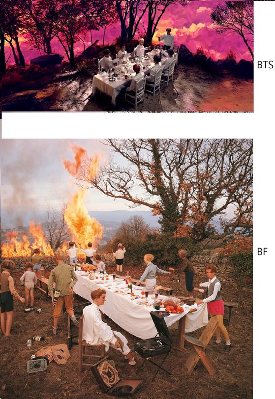 아래 사진이 베르나르 포콩의 대표작. [사진 베르나르 포콩]