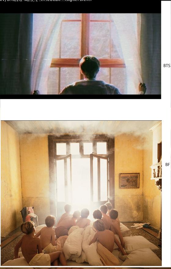 아래 사진이 베르나르 포콩의 작품이다.[사진 베르나르 포콩]