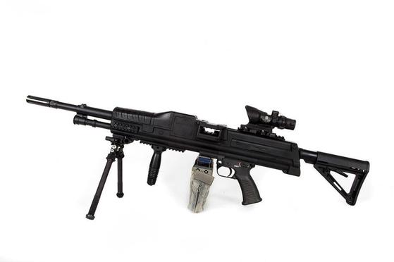 텍스트론이 지난해 공개한 경기관총. CTA를 사용한다. [사진 텍스트론]