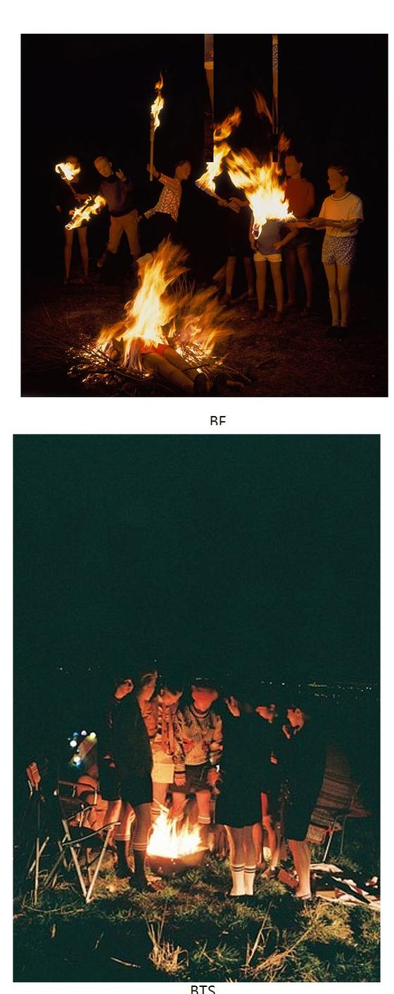 위 사진이 베르나르 포콩의 작품이다. [사진 베르나르 포콩]