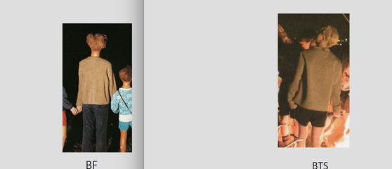 왼쪽 사진이 베르나르 포콩의 작품.[사진 베르나르 포콩]