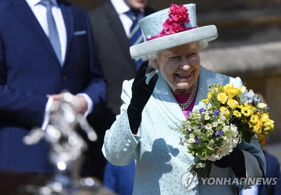 93번째 생일 맞은 엘리자베스 2세 영국 여왕. [EPA=연합뉴스]