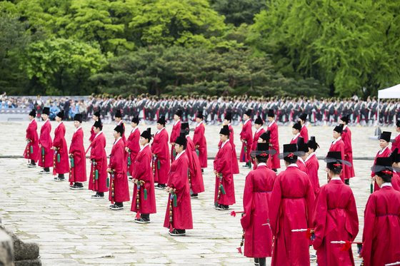 해마다 종묘 정전에서는 단 하루 종묘대제가 열린다. 올해는 5월 5일 열릴 예정이다.[사진 문화재청]