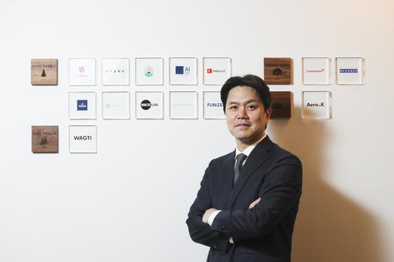 """한승 포레스트파트너스 대표는 '스타트업에 투자해 회사를 키우고 일자리를 만드는 건 자랑스러운 일""""이라고 말했다. [김경록 기자]"""
