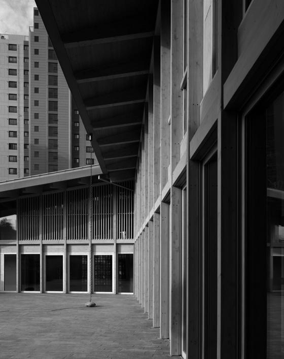 오는 5월 공식 개관하는 주한 스위스대사관. 한옥에서 영감을 받아 설계했다. [사진 헬렌 비네]