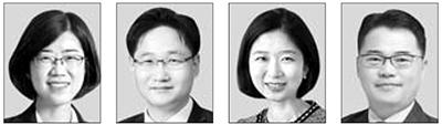 박해영, 최환석, 김정은, 박성만(왼쪽부터).