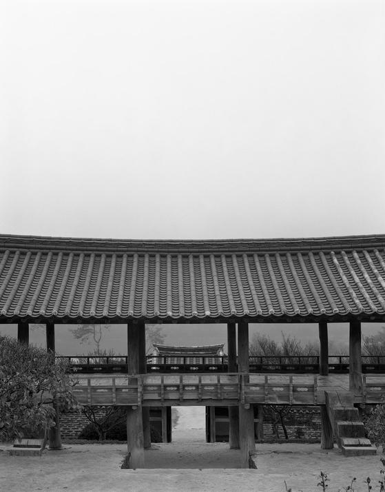 스위스 건축 사진가 헬렌 비네가 찍은 병산서원 풍경. [사진 헬렌 비네]