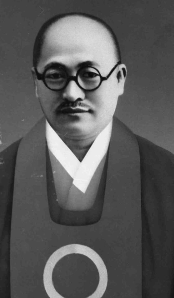 1916년 4월28일 깨달음을 이루고 원불교를 창시한 소태산 대종사.