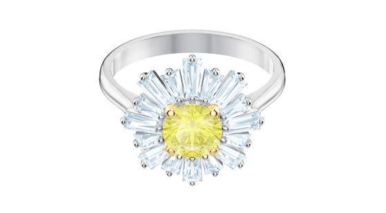 스와로브스키 선샤인 컬렉션의 반지.[사진 스와로브스키]