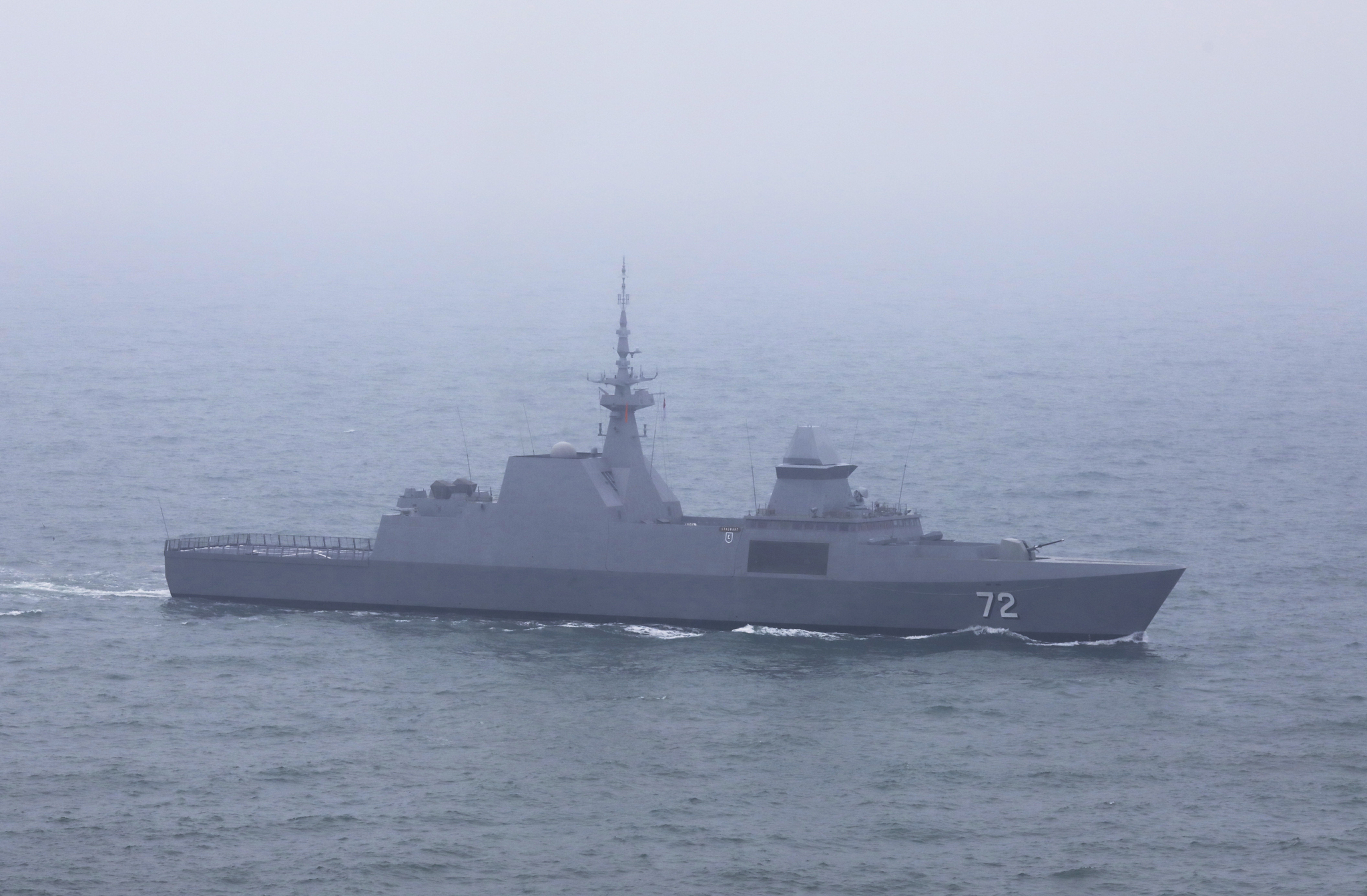 말레이시아 해군 호위함 KD 레키우. [신화=연합뉴스]